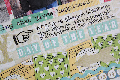 SRM Sticker Calendar Stickers Every Day Layout by Juliana Michaels