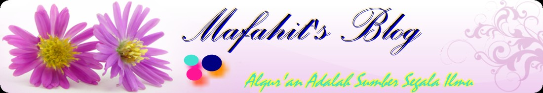 MAFAHIT'S BLOG