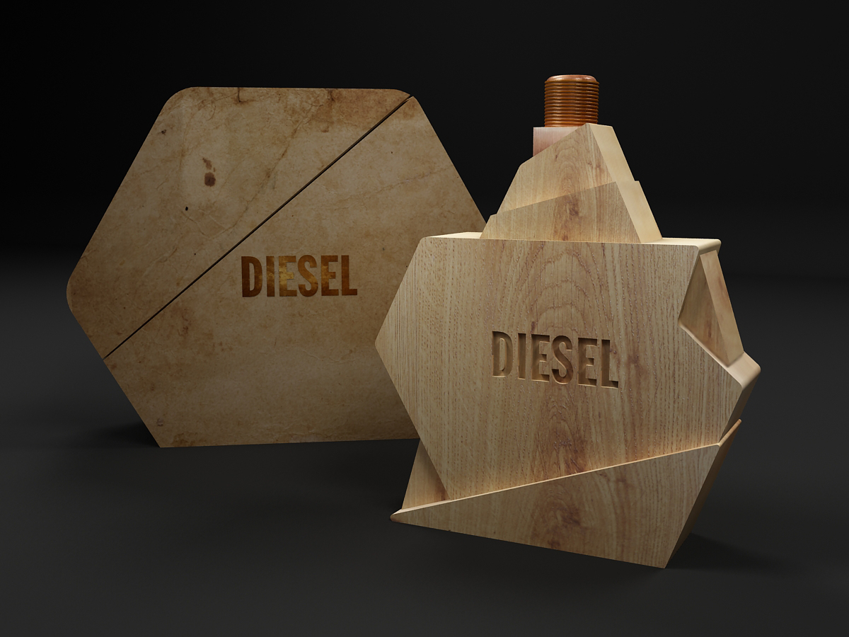 Diesel Perfume Concept On Packaging Of The World