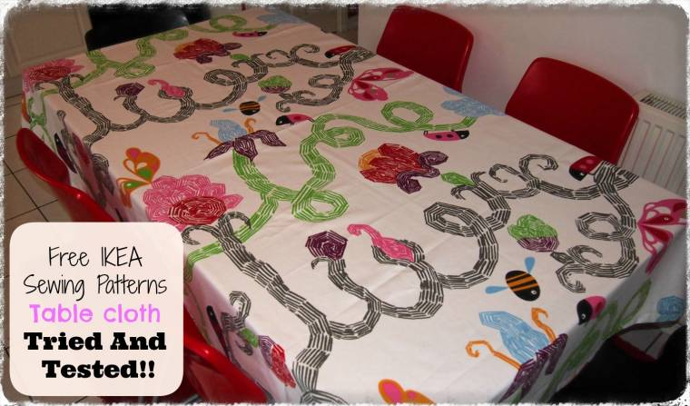 Charmant IKEA Table Cloth Pattern : Tried And Tested!!