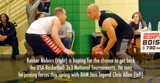 Chris Allen and Booker Nabors may join forces as 3x3 players to qualify for the USA basketball national tournaments