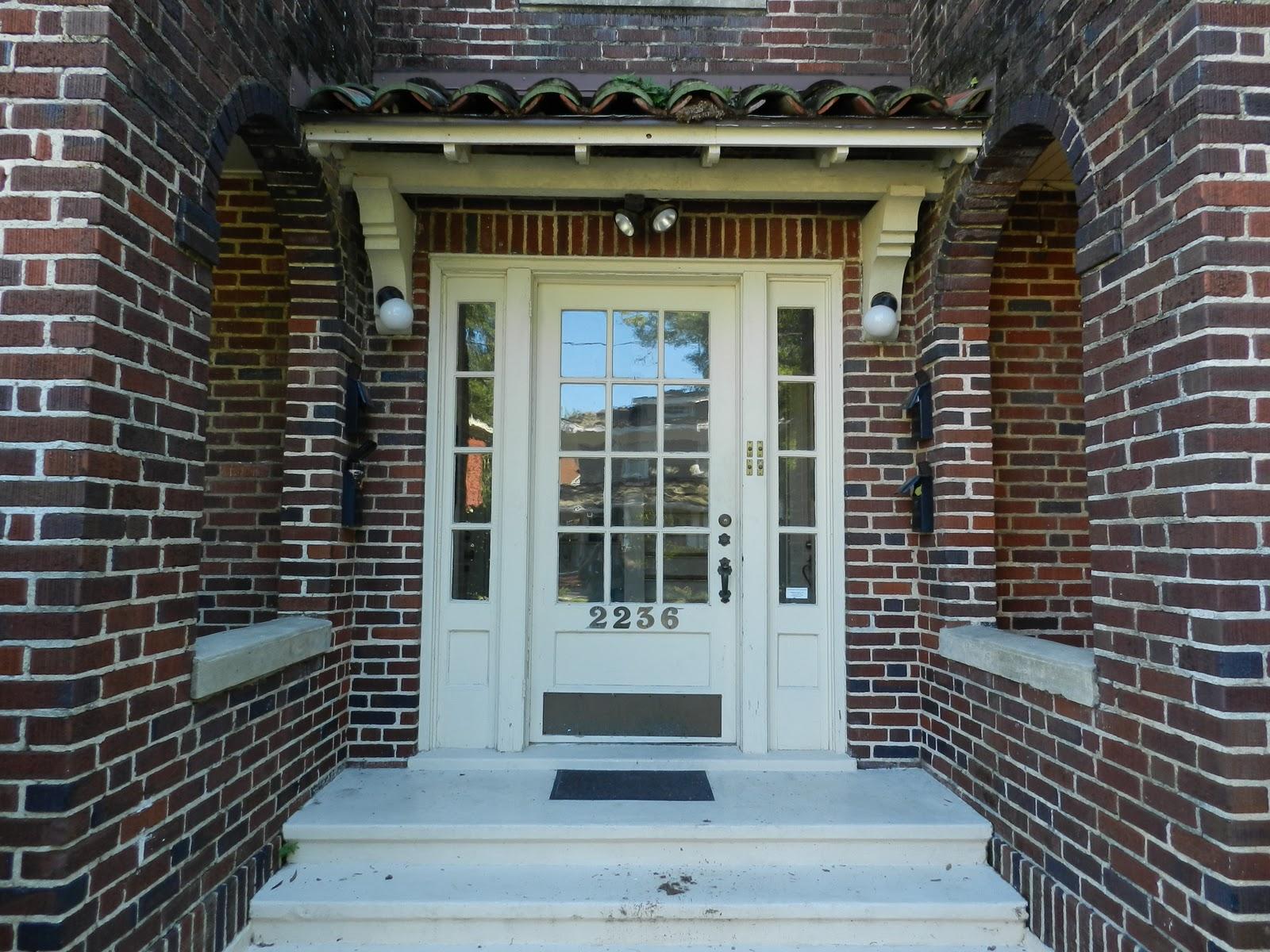 Apartment Building Door mike's historic buildings: st. johns quarter: 4-plex with a river view