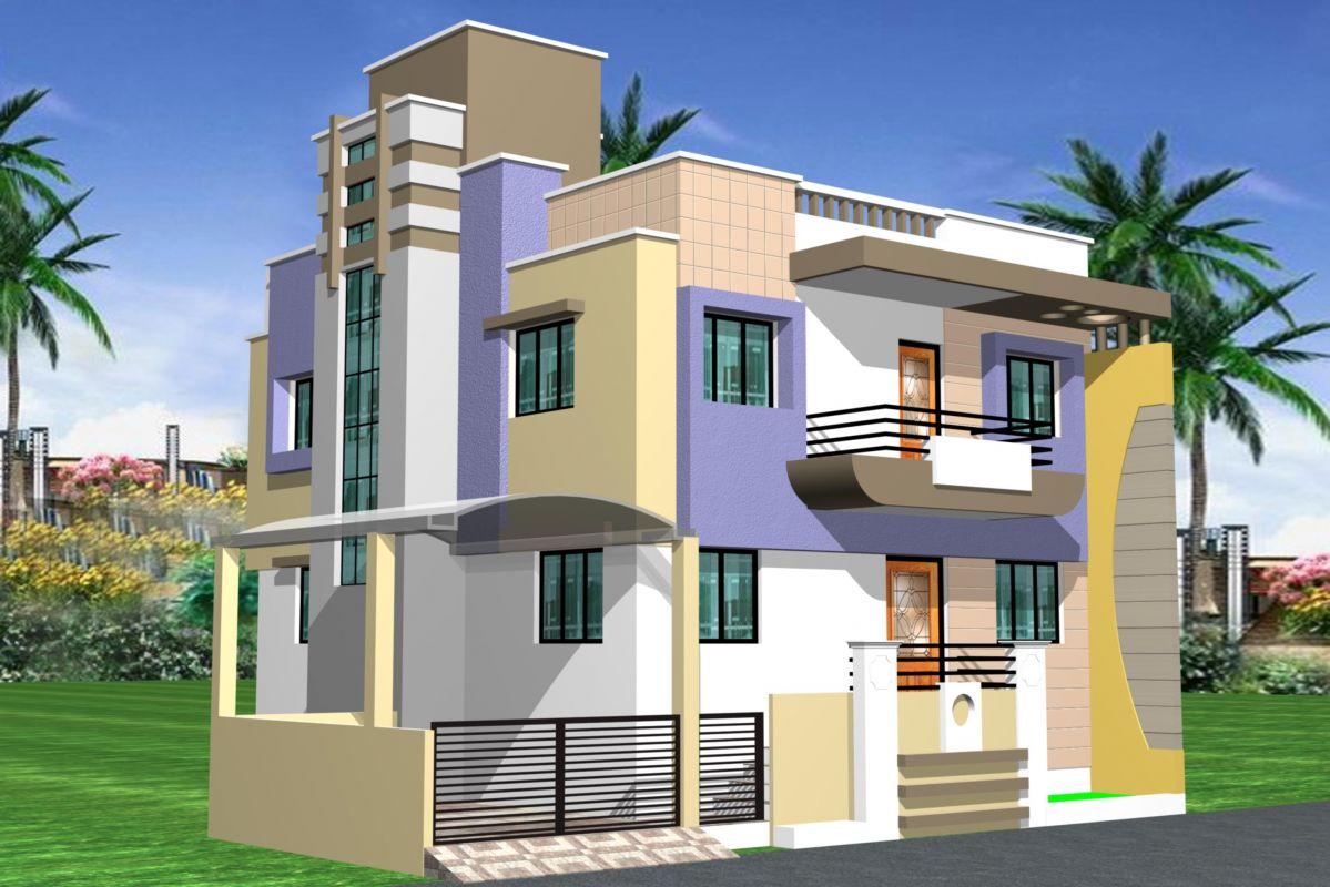2 Storey Apartment Design Exterior modern homes design