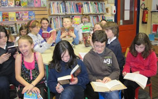 Junior bookclub at Miltown Malbay Library