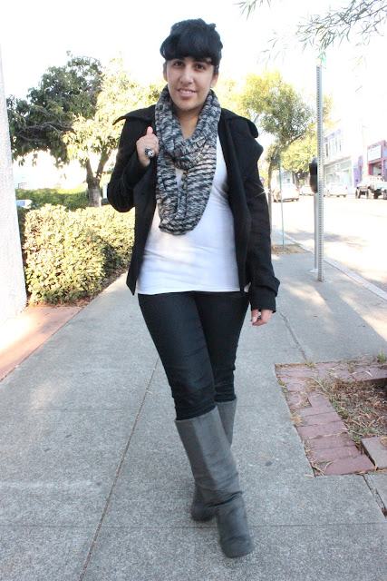 Missoni Infinity Scarf Fall Outfit