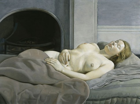Oil Painting, by the great modern artist, Portrait painter,Lucian Freud