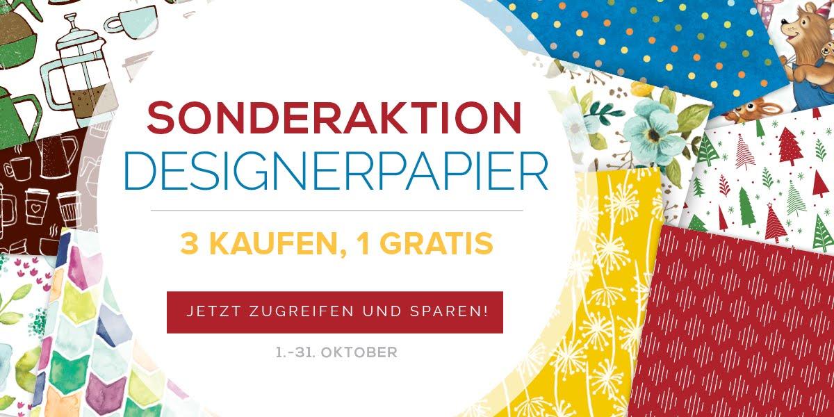 Designpapier-Aktion
