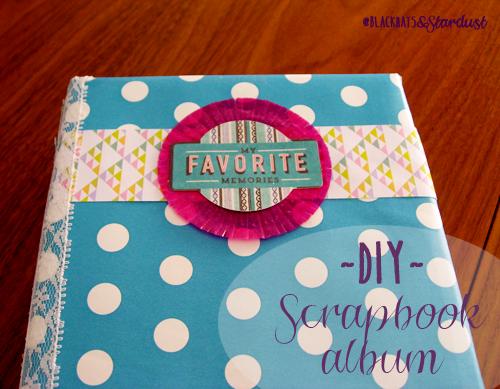 scrapbooking album photo DIY washi tape handmade