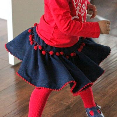Nirma twirly skirt free pattern