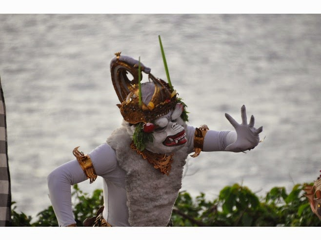 Kecak Dance of Uluwatu Temple: Bali