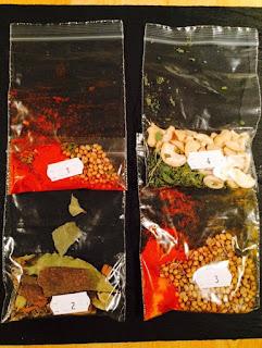 Hari Ghotra Tikka Massala spices
