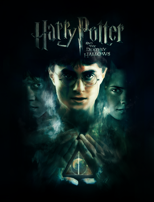 harry potter and the deathly hallows part 2 poster. harry potter and the deathly