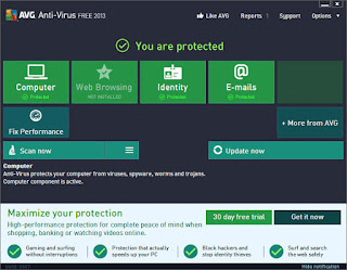 Free Download AVG Antivirus 2013.0.2897 Terbaru 2013