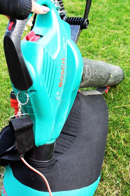 odkurzacz ogrodowy bosch jak używać,blog porady DIy ogrodowe