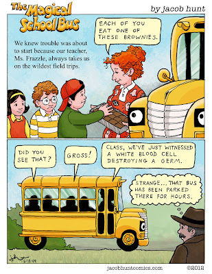 Magic School Bus parody