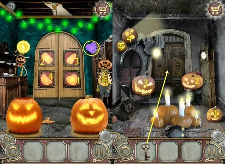 Escape the Mansion Halloween Level 6 7 8 9 10 Guide