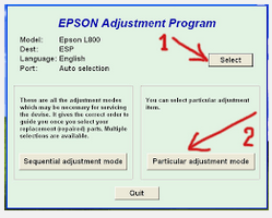 Resetter Epson L800 Free Download