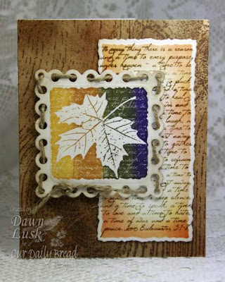 "Our Daily Bread designs ""Randi's Song"" Designer Dawn Lusk"
