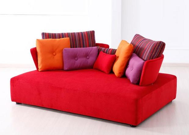 Chic And Colorful Chaise Sofas