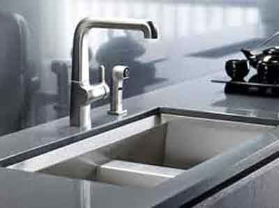 kitchen sink model baru