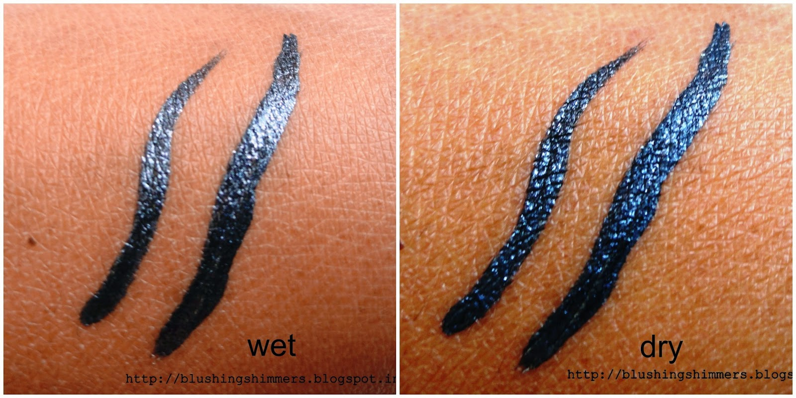 Elle 18 color pop liner Grey review,swatches