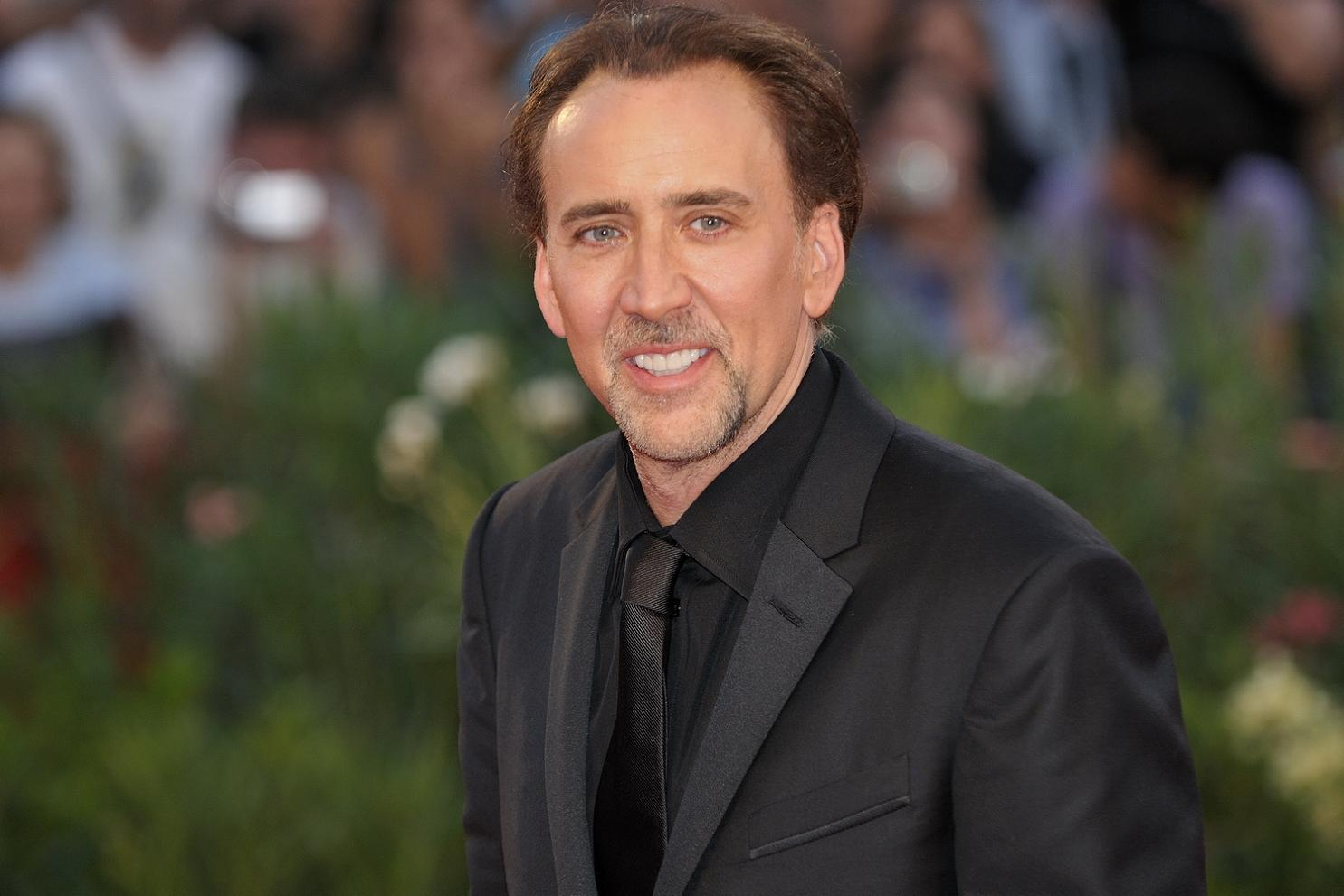 HOLLYWOOD ENTERTAINMENTS  Nicolas Cage