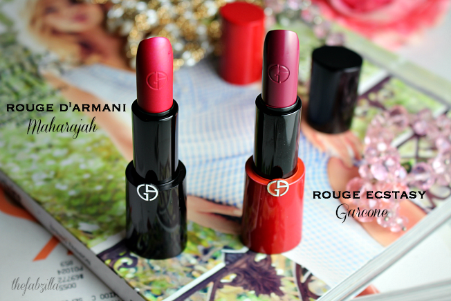 girogio armani rouge d'armant spring 2015 maharajah collection, review, swatch, maharajah, pink blush, garcone, spring best lipsticks, lipstick trend, makeup trend spring summer