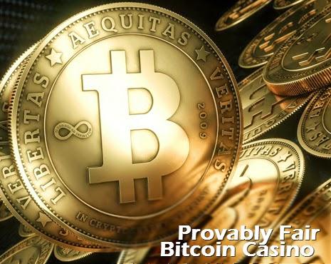 Provably Fair Bitcoin Casino