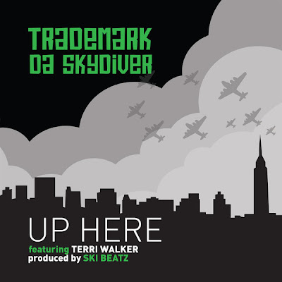 Trademark Da Skydiver - Up Here (feat. Terri Walker) - Single  Cover