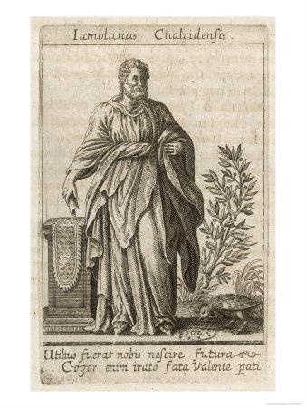 Iamblichus Chalcidensis, Neoplatonic philosopher