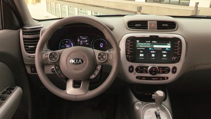 Kia Soul EV Dashboard