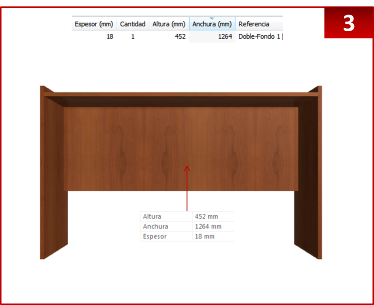 Dise o de muebles madera crear escritorio con repisas for Diseno de muebles de escritorio