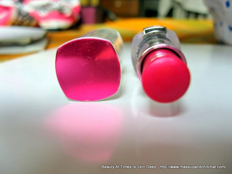 Photo of L'Oreal Rouge Caresse Lipstick Impulsive Fuchsia