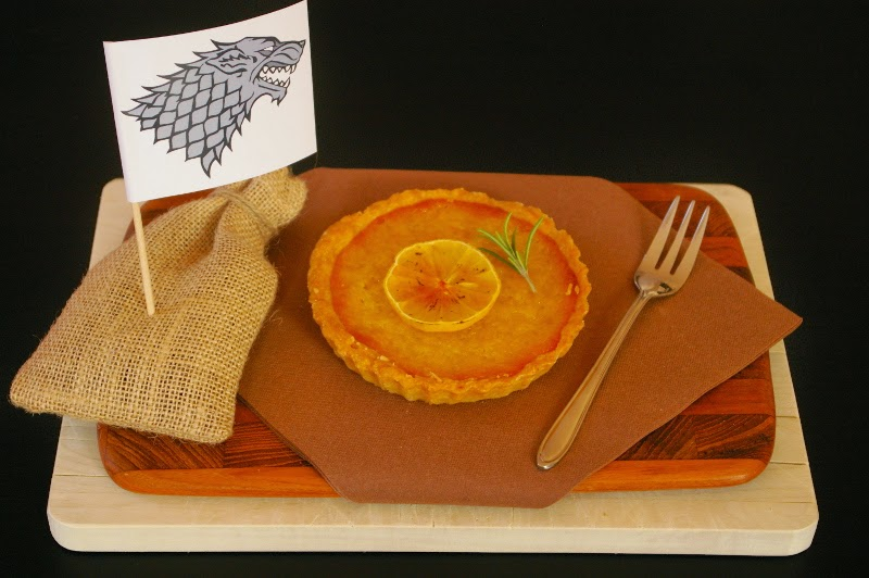 Game of Thrones Lemon Cake