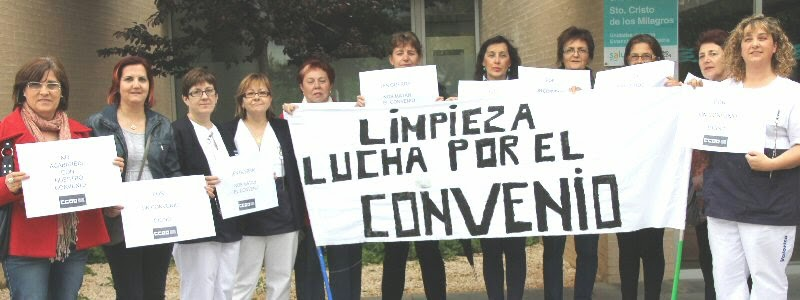 Huelga Limpieza Hospitales