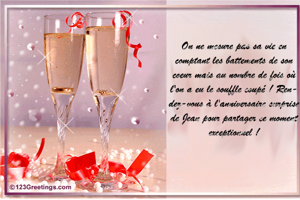 Related to Texte Anniversaire - Carte Anniversaire - Invitation