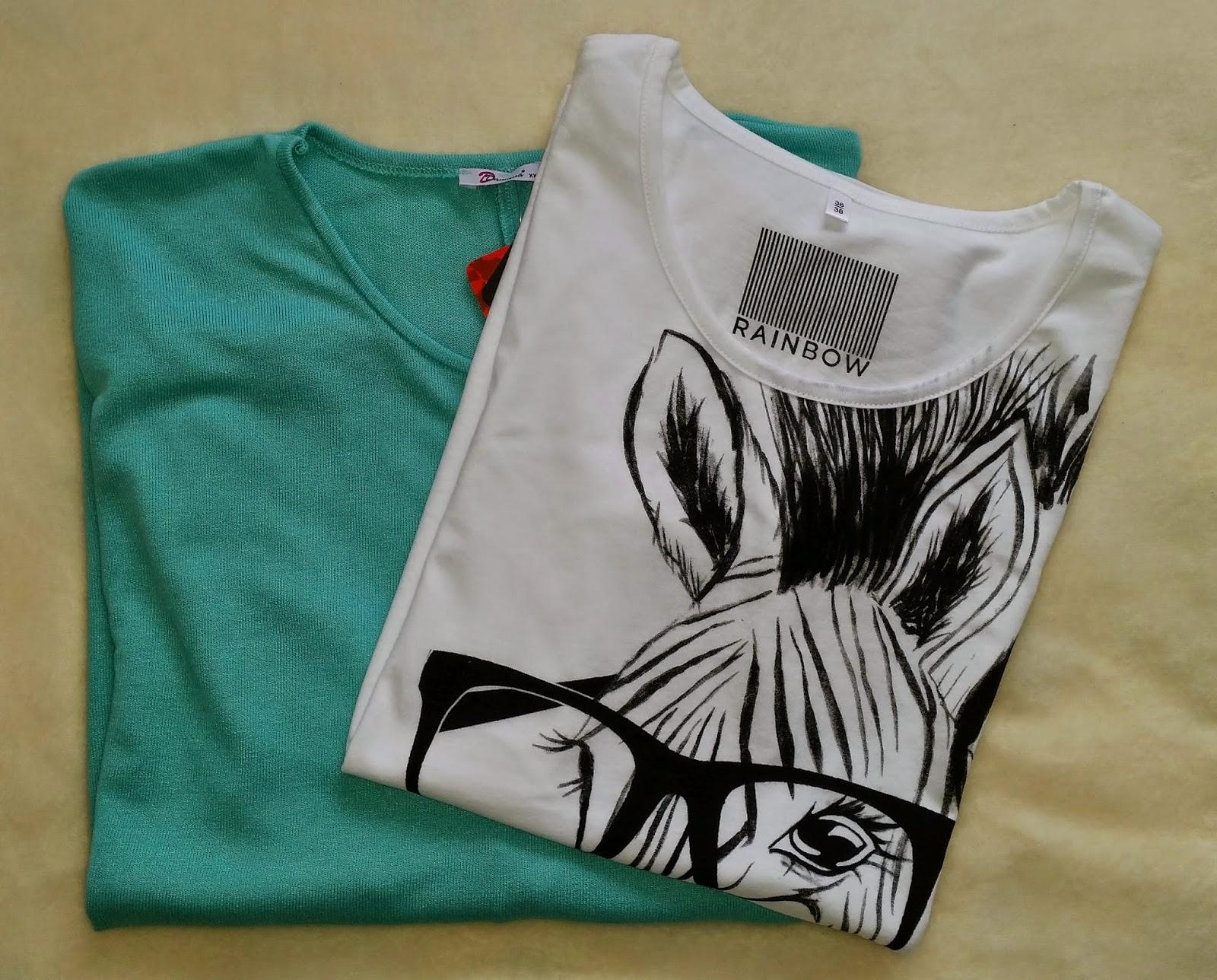 ubrania, bluzki