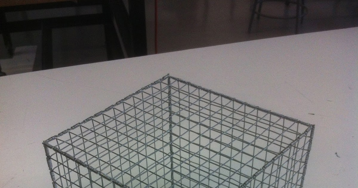 The Art & Design of Gabriel Perez: Hardware Cloth Cube