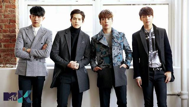 C.N Blue grup band Korea