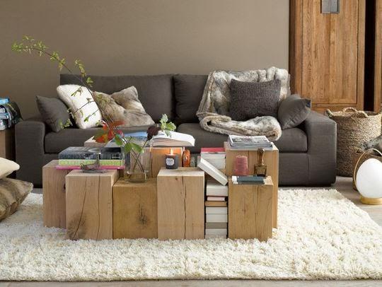 Natürliche Materialien ins traute Heim: Holz, Wolle, Filz, Fell!