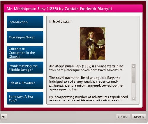 learning object by susan smith nash, ph.d.: mr. midshipman easy