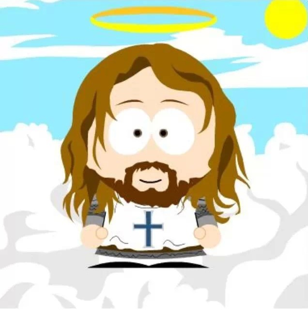 South Park Jesus is weak and impotent, with feelings that are easy to hurt. Few people are passionate followers of South Park Jesus.