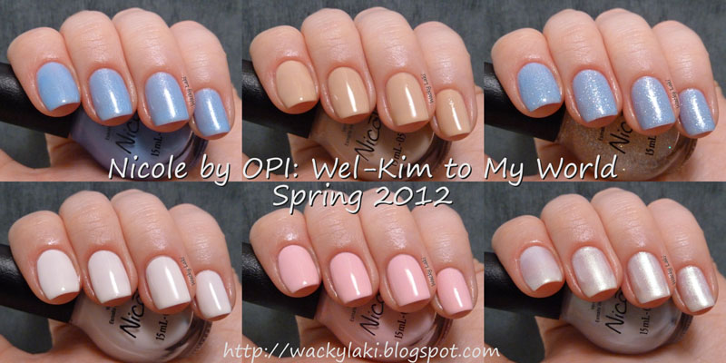 Wacky Laki: Nicole by OPI: Wel-Kim to My World - Kardashian Kolors ...
