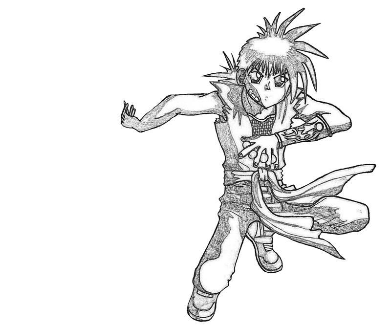 recca-hanabishi-skill-coloring-pages