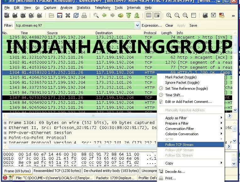 Hack facebook using cain and abel and wireshark filter destination lettermass - Wireshark filter destination port ...