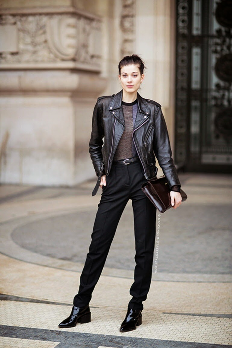 fashion blogger all saints leather fall fashion inspiration outfits nyfw lfw fur whowhatwear blog runway street style