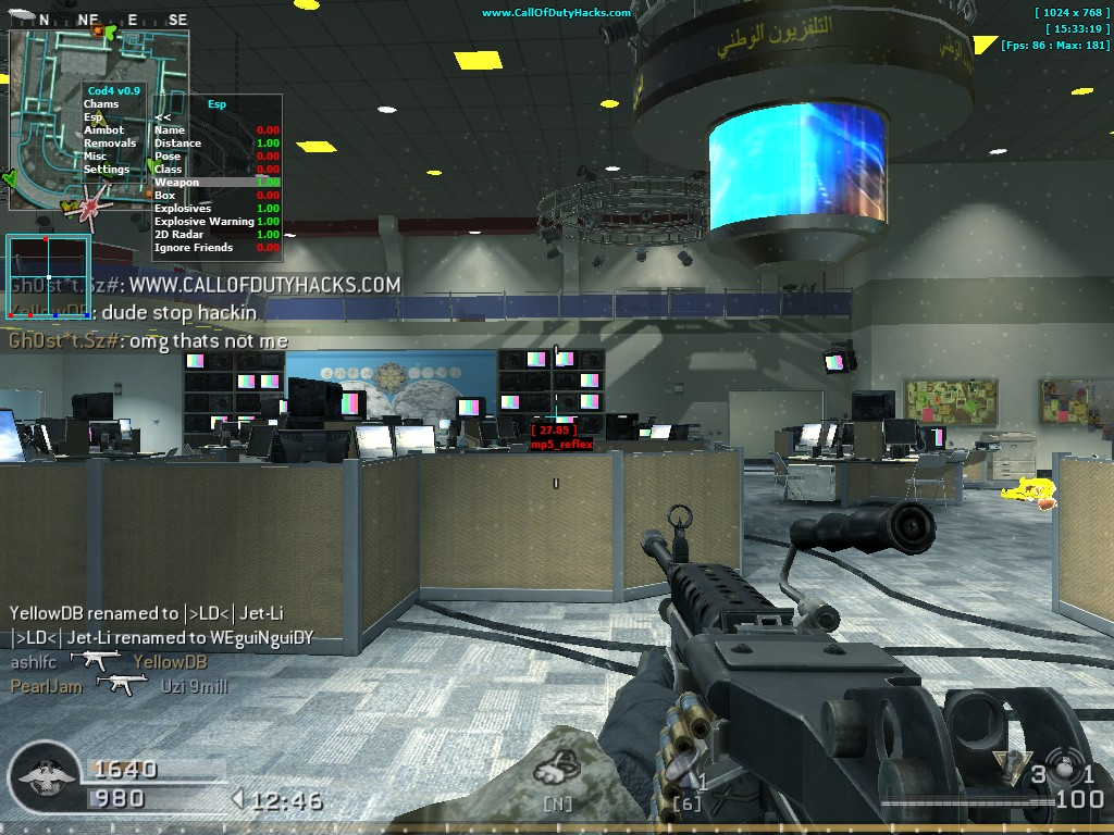 Get the best call of duty 4 modern warfare hack now with instant kill aimbot, full for the call of duty series