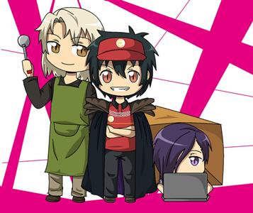 Sinopsis Anime Hataraku Maou-Sama! (The Devil Is a Part-Timer!)