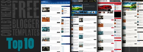 2012 Top Blogger Template Collection