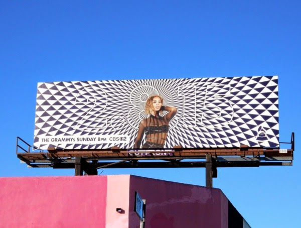 Beyonce Grammys 2015 billboard